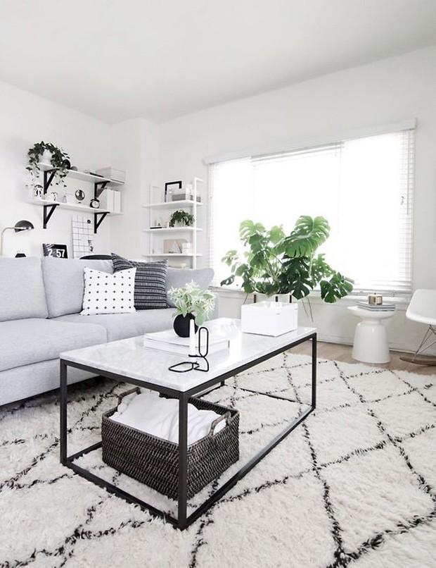 Nobre e atemporal, o mármore deixa qualquer ambiente elegante Foto Pinterest Reprodução